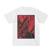 シンプルデザインTシャツ 枯れ木に蔓