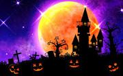 月夜のハロウィン