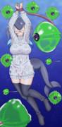 シロナガスママの輝きがピンチ(透け透け)