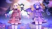 【MMD】魅惑のスカーレット姉妹でハッピーハロウィン【改変モデル】