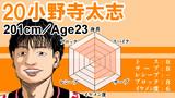 【男バレ】小野寺太志 評価してみた。-W杯2019男子バレーボール-
