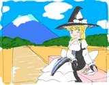 富士山とMZ