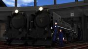 【モデル配布】D51形蒸気機関車(追分所属機)