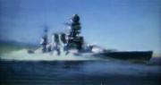 戦艦を撮影してきました~っぽい絵