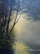 夕暮れの靄