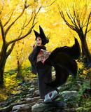 デート中の妖狐さん♥