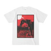 シンプルデザインTシャツ 馬に思う