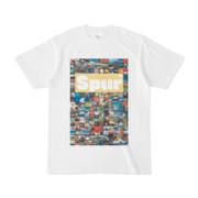 シンプルデザインTシャツ Spur_176/2(KHAKI)
