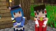 【Minecraft】リトルメイド 東方スキンの顔グラフィックテクスチャ・・・