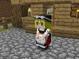 【Minecraft】リトルメイド 魔理沙の顔グラフィックテクスチャ