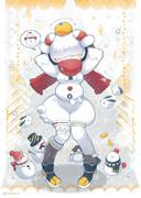 ぽっちゃり雪だるまちゃん