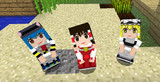 【Minecraft】リトルメイド 東方キャラの顔グラフィックテクスチャ変更