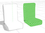 シンプルな座椅子