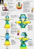 埴安神袿姫モデル作成の進捗
