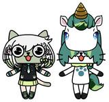 YuNiRou(ユニルー)&乙女まるー