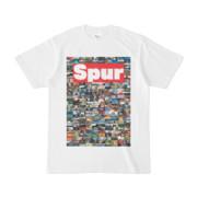 シンプルデザインTシャツ NC1.Spur_232(RED)
