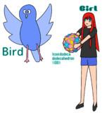 BIG (Bird, Icosidodecadodecahedron, Girl)