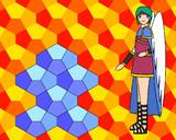 Cairo-pentagonal-tilingと天使勇者