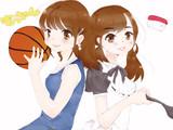 バスケもっちゃんとメイドもっちゃん(とおしゅし)