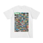 シンプルデザインTシャツ Spur=170(GREEN)