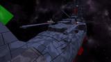 「宇宙戦艦ヤマト2199 艦艇精密機械画集 弐」の表紙っぽいアングル