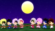 【新第一回MMDBASARA戦闘祭】十五夜の綱引き