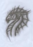 ドラゴンを適当に書いてみた