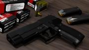 【MMD】SIGSAUER P226 HighestGradeEdition【モデル配布】