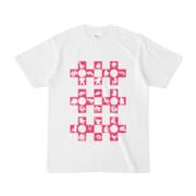 シンプルデザインTシャツ Cr/MONSTER(MAGENTA)