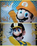 巨人ファンのマリオと阪神ファンのルイージ