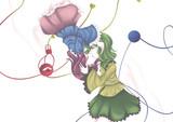 好きなキャラで神秘的な微エロを描きたかった