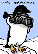 ペンギンさんはカメラマン