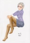 コピック着色 相川千夏さんぽいの3 ナイトエレガンス