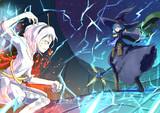 雷と火精霊