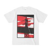 シンプルデザインTシャツ 鉄骨に鉄塔