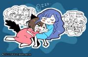 睡眠レ◯プ!抱き枕と化したみくにゃん