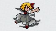 [minecraft 1.14.4]キャラのみ No.028 ルーミア[東方人形劇]
