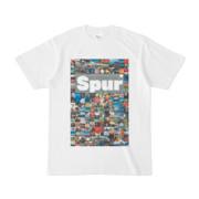 シンプルデザインTシャツ Spur_176/2(GRAY)