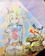 THE  ARTYパレッタ・ラ・ファーブル絵軍少尉