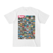 シンプルデザインTシャツ Spur=170(MAGENTA)