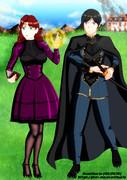 魔女と剣士