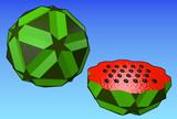 小二十・二十・十二面体のスイカ