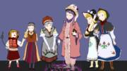 東欧風衣装