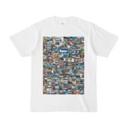 シンプルデザインTシャツ 276-Spur(BLUE)