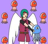 クラゲと天使勇者