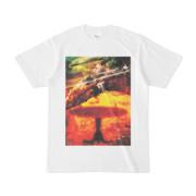 シンプルデザインTシャツ Epic 食事烏