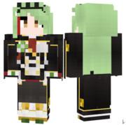 リットリオ アズールレーン Minecraft Skin