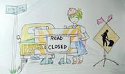 road closed☆(通行止)