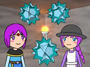 大十二面半十二面体、少年魔法使い、少女