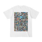 シンプルデザインTシャツ 276-Spur(CYAN)
